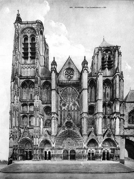 Dedication of Cathedral of St. Stephen, Bourges