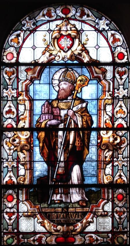 Chrodegang, bishop (of Metz), confessor