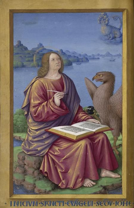 John, apostle, evangelist