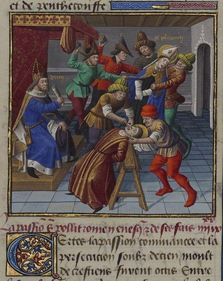 Polychronius, bishop, martyr