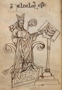 Aldhelm, bishop (of Sherbourne)