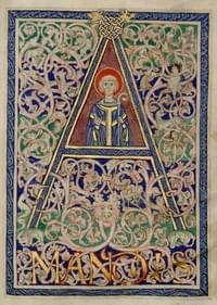 Amandus, bishop (of Strassburg, Maestricht, Worms), confessor (sometimes martyr)
