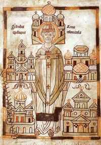Anno, bishop (of Cologne), Ordination