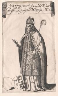 Arnulph, bishop (of Metz, Soissons), confessor (Translation)