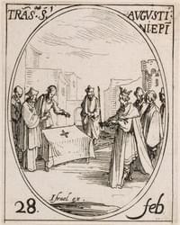 Augustine, bishop, confessor (sometimes martyr) (Translation)