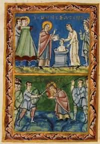 Boniface, bishop (of Mayence), and companions, martyrs