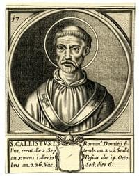 Callistus (I), pope, martyr