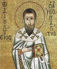 Dionysius the Areopagite, bishop, martyr