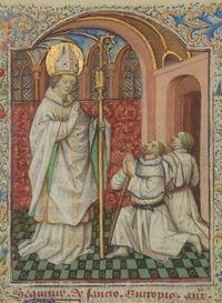 Eutropius, bishop (of Saintes), martyr