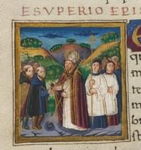 Exuperius, bishop (of Toulouse), confessor