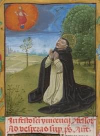Vincent Ferrer (de Valencia), priest, confessor