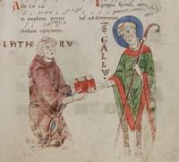 Gall, abbot (sometimes bishop), confessor (sometimes, falsely, martyr)