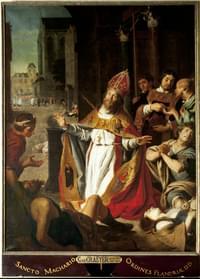 Macharius, bishop (of Antioch in Pisidia), translation